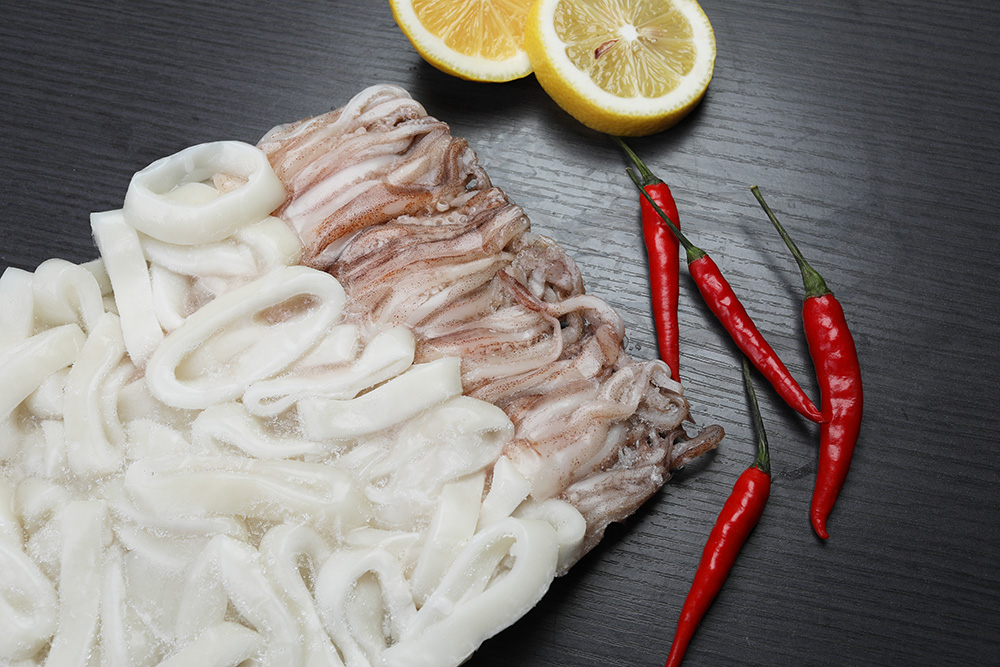 Frozen squid R&T